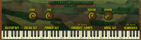 Combat Loop Drum Machine free vst plugins drum loops
