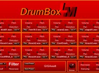 DrumBox LM: Wav drum kit free vst with 150 drum sample library presets