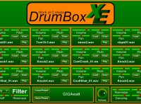 DrumBox XE: techno drum vst free