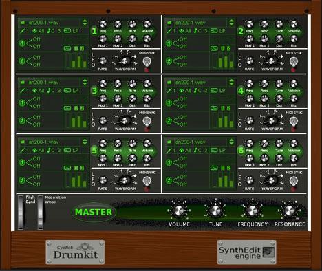 DrumKit Free drum sampler vst plugin