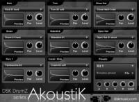 DSK DrumZ AkoustiK: acoustic drum module