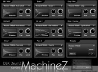DSK Drumz Machine drum machine sampler vst