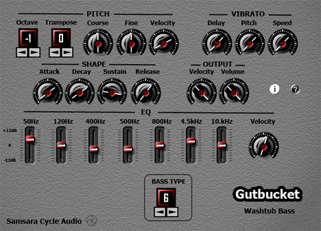 Gutbucket: Free Vst Bass