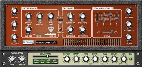 Microrock: Free Vst Bass