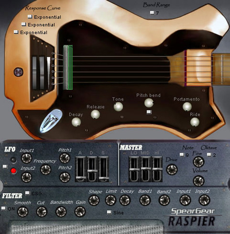Raspier: Free Vst Bass