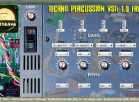 Techno Percussion VSTi