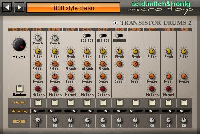 transistor drums 2