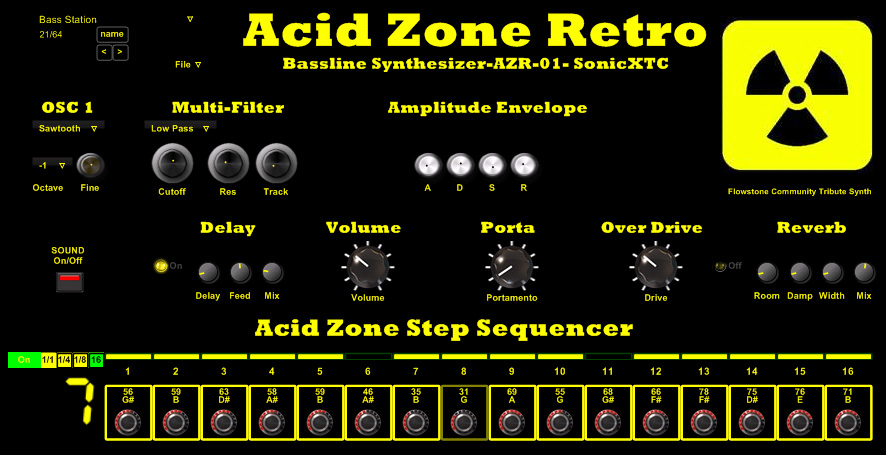 Acid Zone Retro