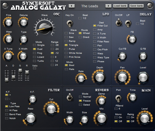Analog Galaxy