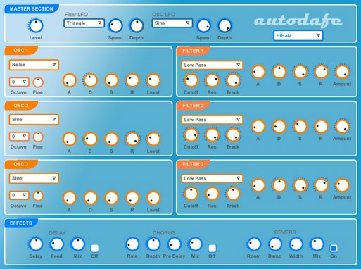 Autodafe Synth