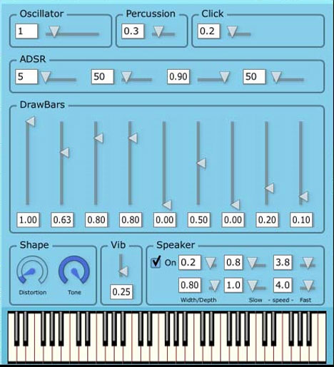 Big Blue Organ