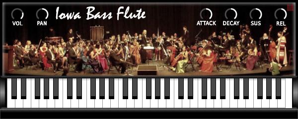 Iowa Bass Flute