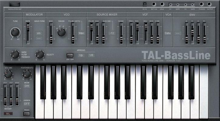 TAL-BassLine
