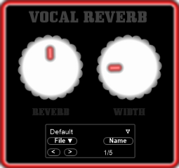 VOCAL REVERB 1.0: free vocal reverb vst plugin