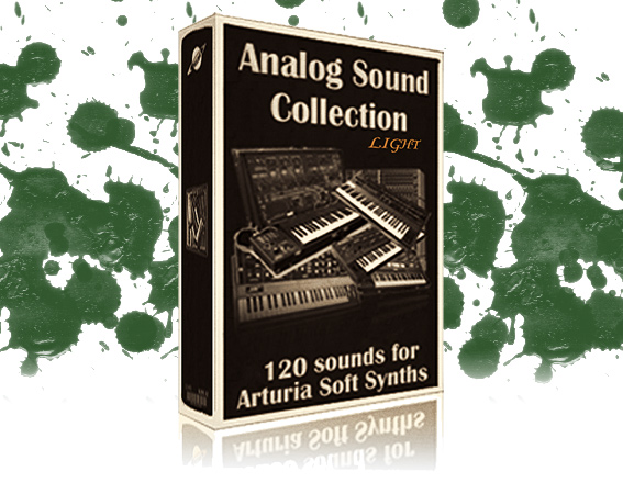 Musicrow Free Analog Sound Collection LE for Arturia Synths