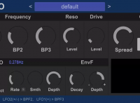 HY-Reso - Free Filter VST Effect Plug-in for Windows 32 - 64-bit