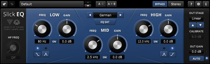 Free Mixing and Mastering Equalizer VST TDR VOS SlickEQ