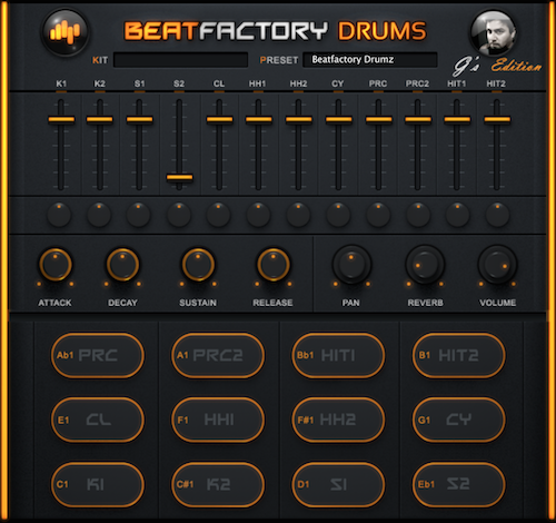 BeatSkillz Beatfactory Drums - Free Drum Plugin for Mac & Win VST & AU