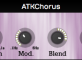 ATKCHORUS 1.0.0 Randomly Modulated Delay Vst Plugin