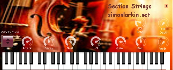 Section Strings by Simon Larkin Free Vst Authentic Organ