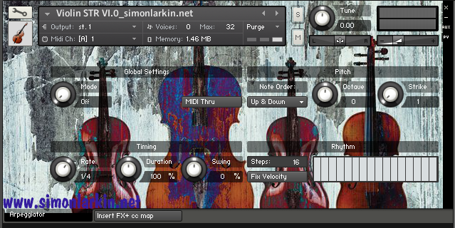 Solo violin instrument for Kontakt 5 Free Vst Simon Larkin