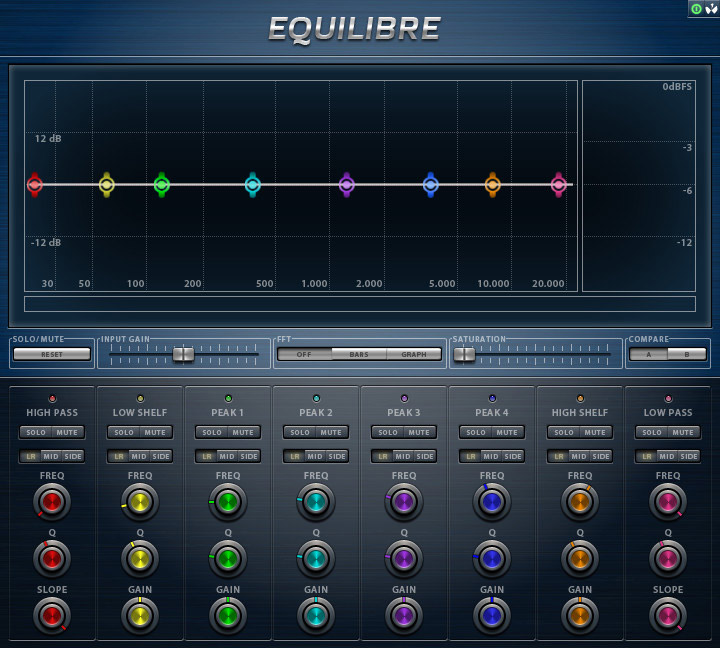 Equilibre Free Vst Equalizer Plugin for Windows by AudioTeknikk