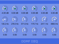 IIEQ Free Vst Equlizer for Windows by DDMF