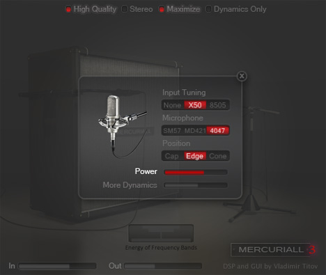 free guitar cabinet vst simulator mercuriall cab v3 0. Black Bedroom Furniture Sets. Home Design Ideas