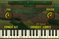 Combat Loop Drum Machine free vst plugins drum loops