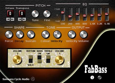 FabBass: Free Vst Bass
