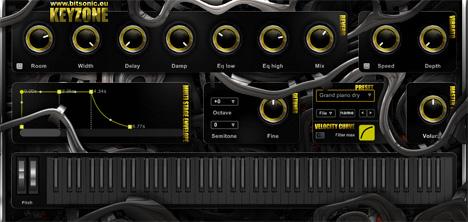 Keyzone: Free Vst Piano/Accordion