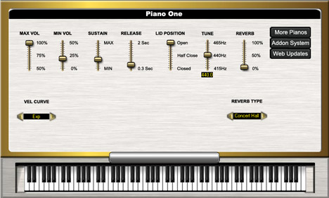 Piano One: Free Vst Piano