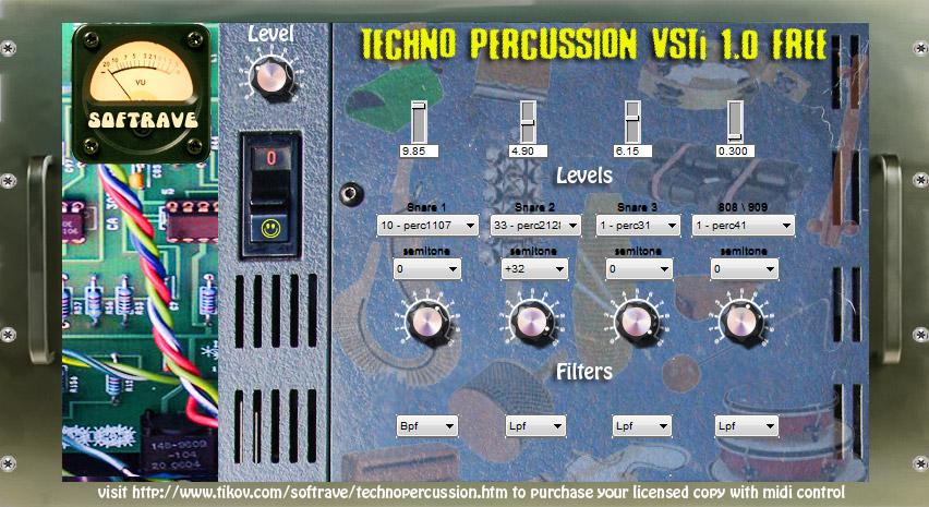 Techno Percussion VSTi