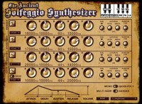 Ancient Solfeggio Synthesizer
