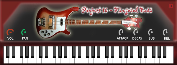 Project16 Fingered Bass