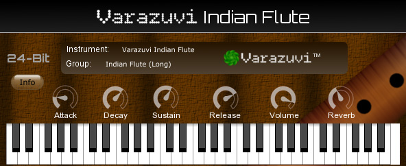 Varazuvi Indian Flute