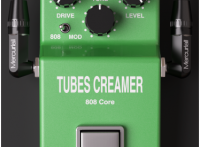 Tubes Creamer 808 Core Free Vst by Mercuriall Guitar Effect distortion Ibanez Ts-808