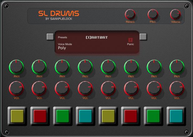 SL Drums 2 Free VST Drum Developed by Beatmaker