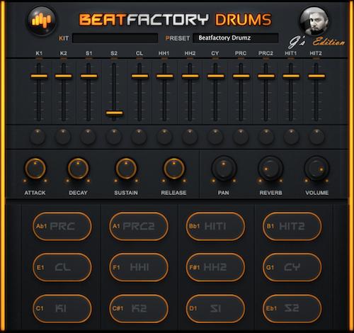 BeatSkillz Beatfactory Drums - Free Drum Plugin for Mac & Win VST & AU