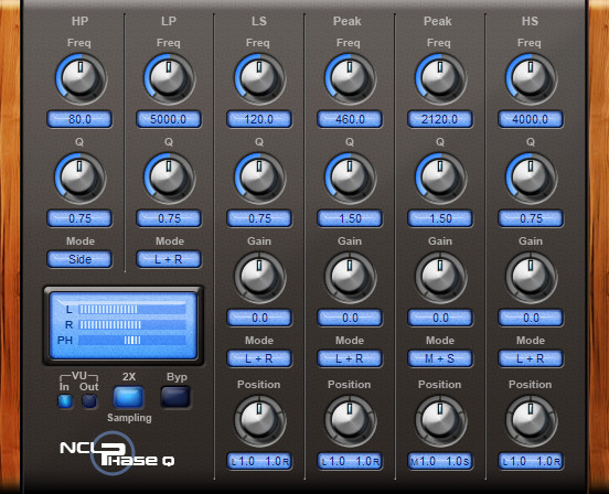 Matthew Lindsay NCL Phase EQ Free VST Equalizer for Windows